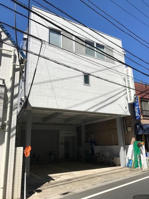 本社ビルの外装改修工事が終了しました。